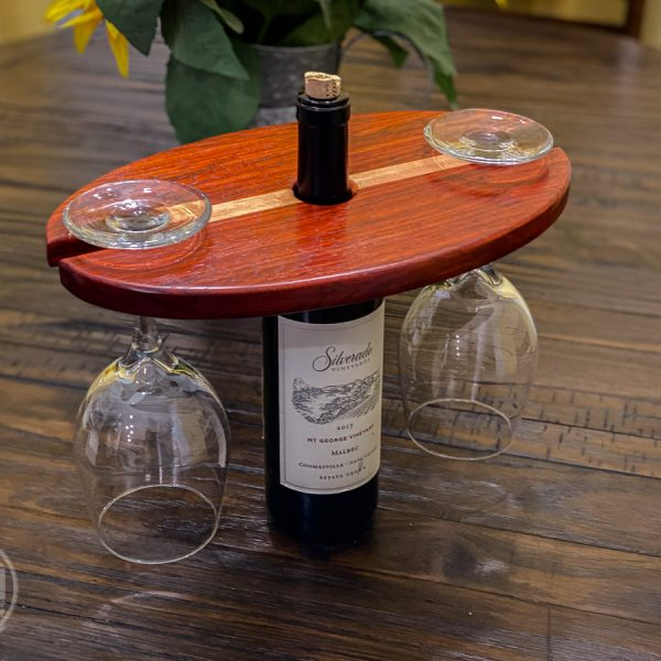Hardwood Wine Caddy